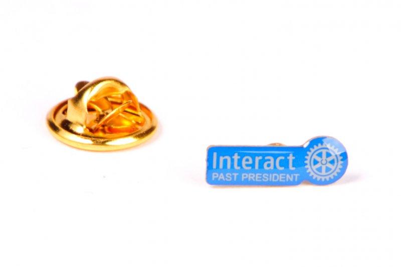 Interact Pin Past Präsident -neues Logo-