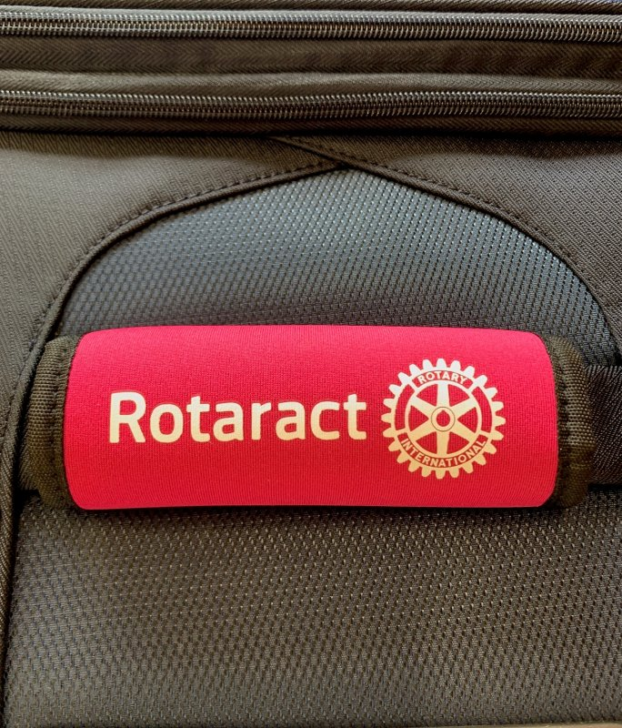 Rotaract Griffpolster -Koffer-