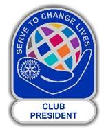 "Jahresmotto 21/22 ""Club President Pin"""