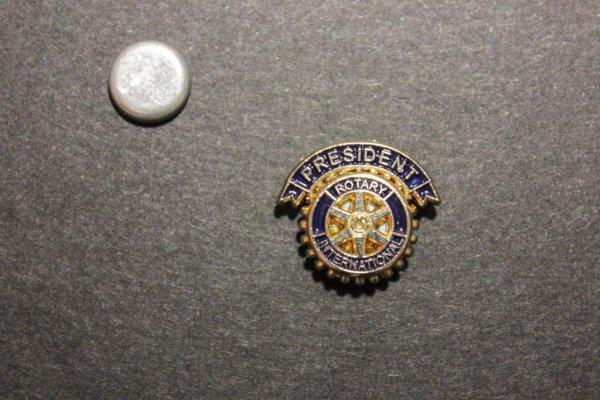 Präsidenten Anstecker -magnet-