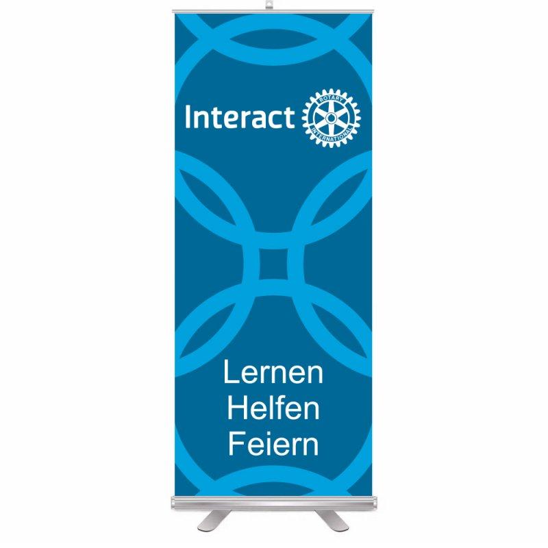 Interact Roll-Up Aufsteller (Display)
