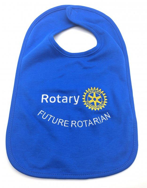 "Rotary Baby-Lätzchen ""Future Rotarian"""