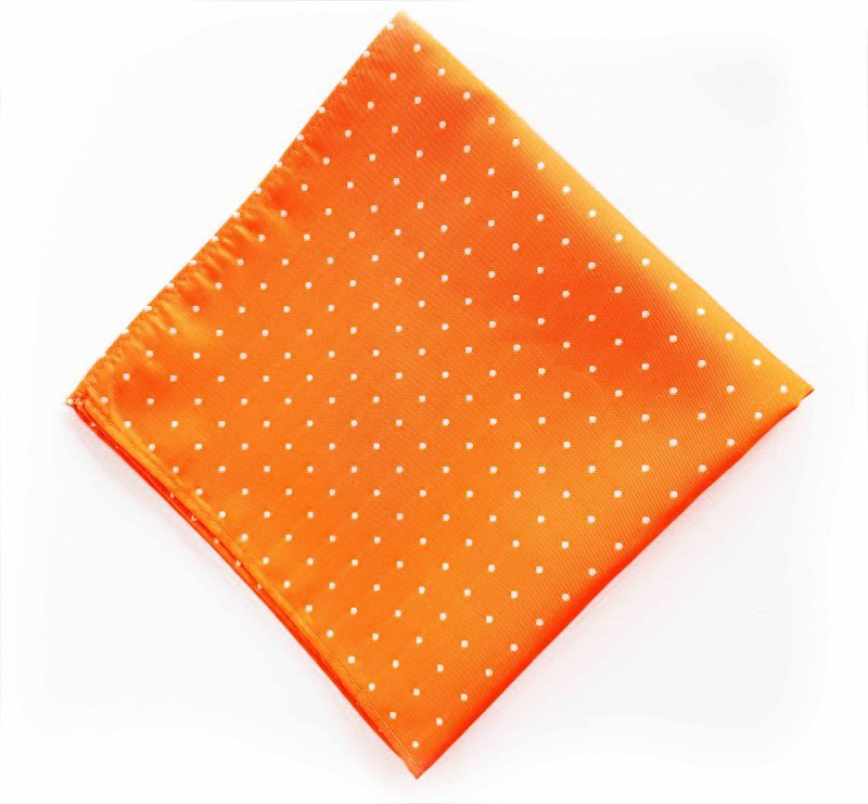 Einstecktuch (Pochette) Orange
